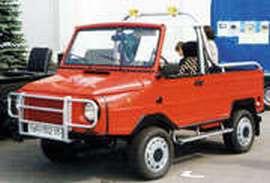 """ЛуАЗ-1302-05, получивший имя  """"Форос """", и представленный публике в 1999 году на московском автосалоне MIMS'99..."""